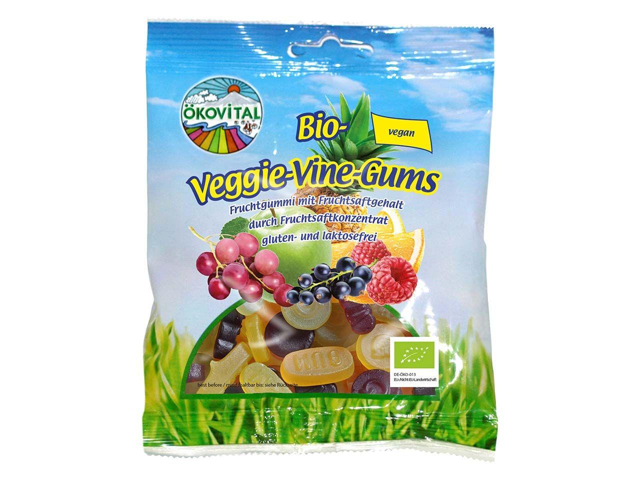 """Bio-Fruchtgummi """"Veggie-Vine-Gums"""" 100 g A20201200"""