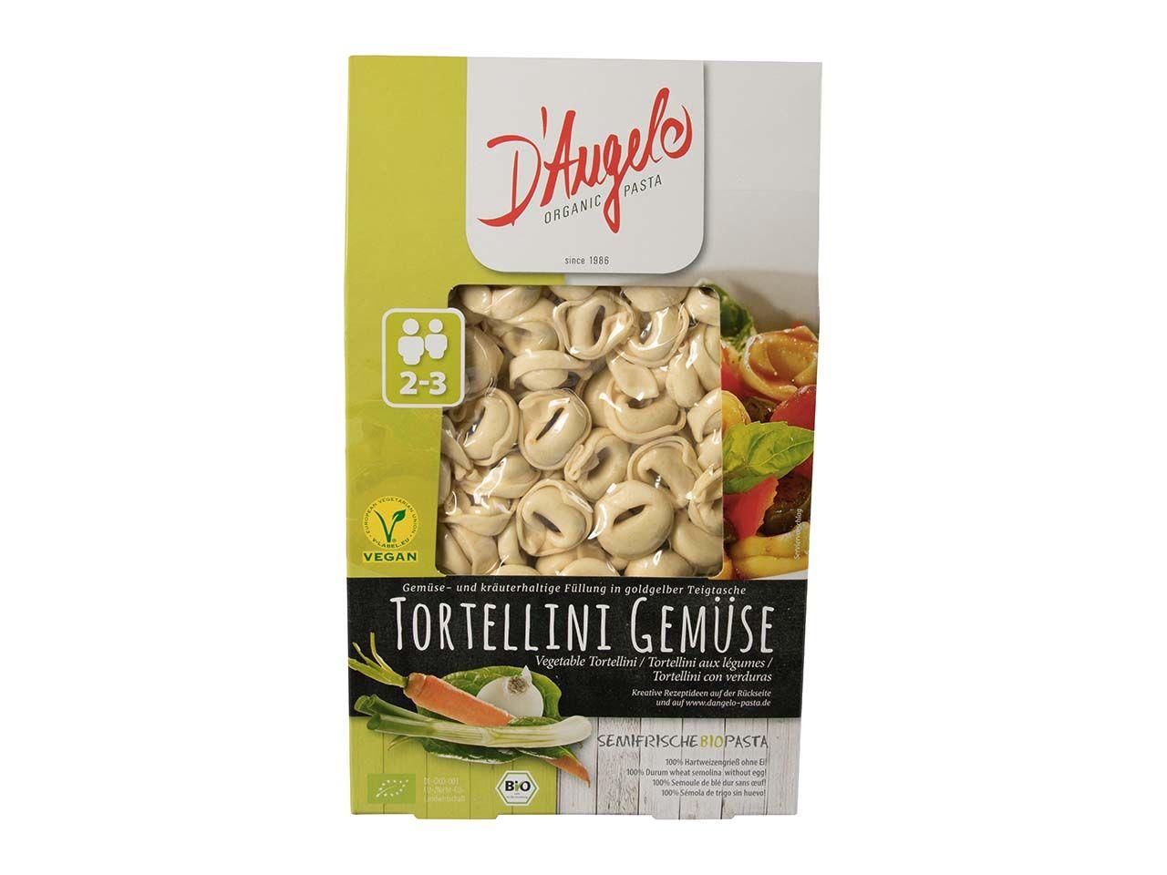 D`Angelo Bio-Tortellini mit Gemüse-Füllung, 250 g 229002401