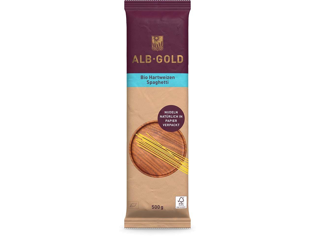 ALB-GOLD Bio-Hartweizen-Spaghetti 500 g 104034470