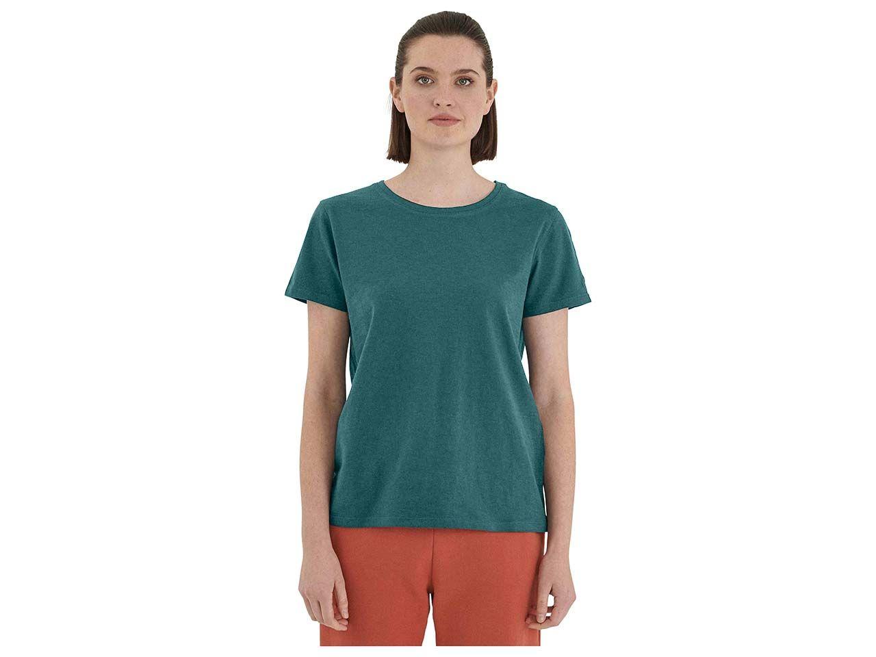 ORGANICATION Bio-Damen-Basic-Shirt, seaweed, Gr. S WOR 10553