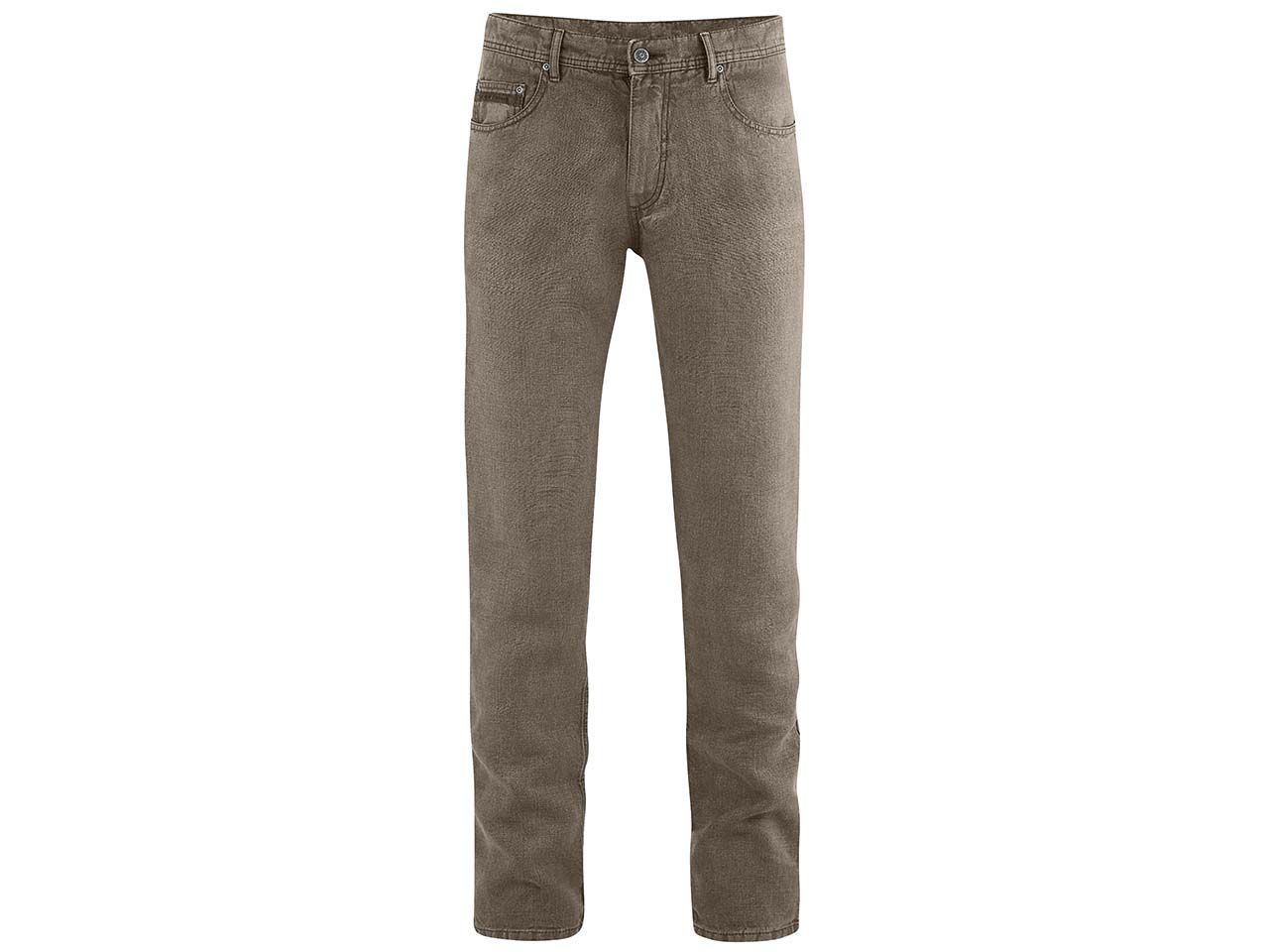 HempAge unisex-Jeans, 5-pocket, tobacco, Gr. 33/34 DH511