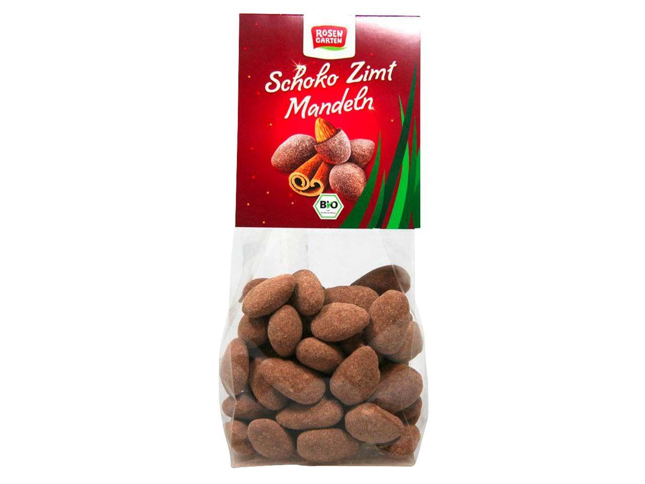 "Rosengarten Bio-Mandeln ""Schoko-Zimt"", 100 g 175832531"