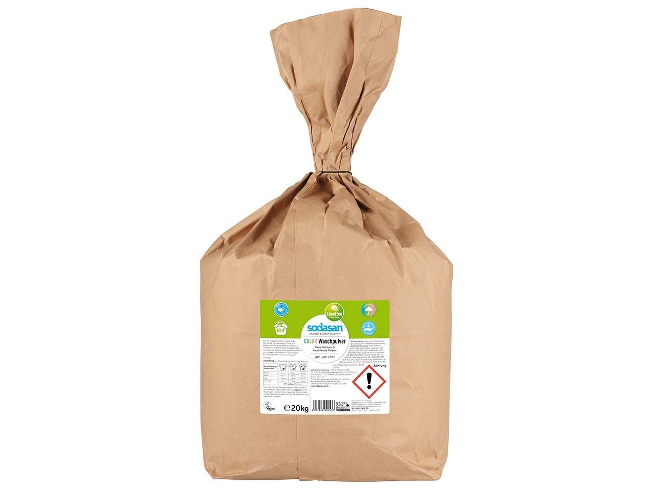 "Sodasan Color-Waschpulver ""Limette"", 20 kg 53"