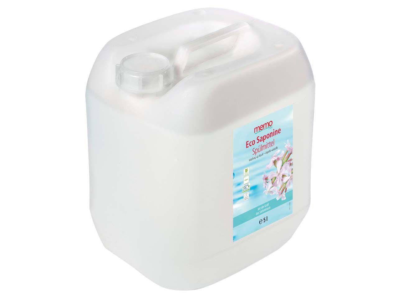 "memo Spülmittel ""Eco Saponine"", 5 Liter H1150"